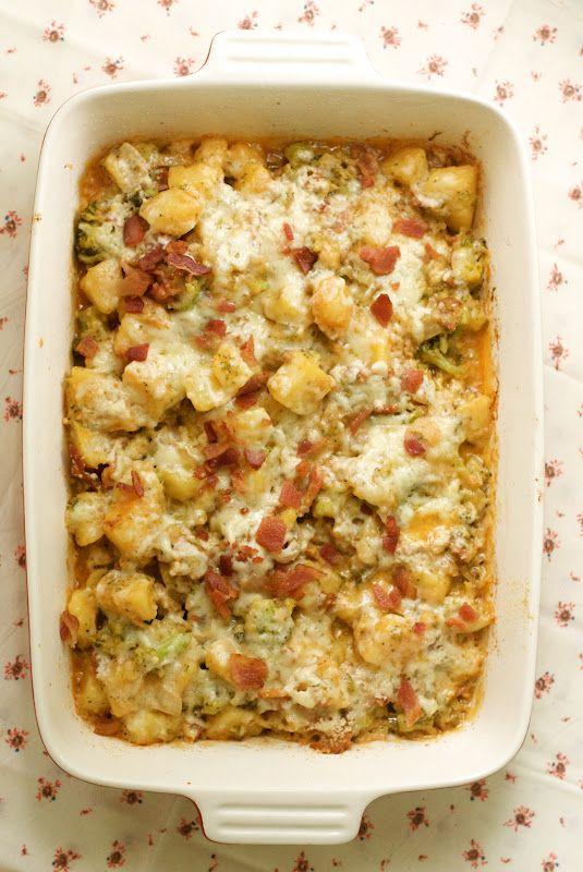 Baked Potato Casserole.