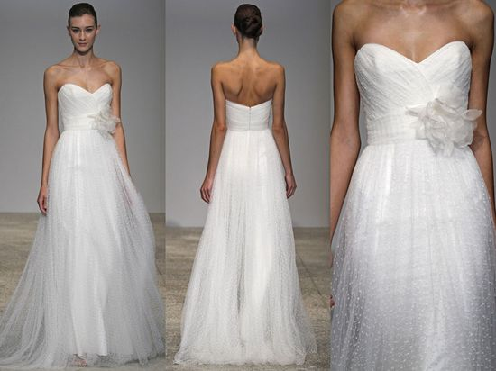 Beach Wedding Dress-love