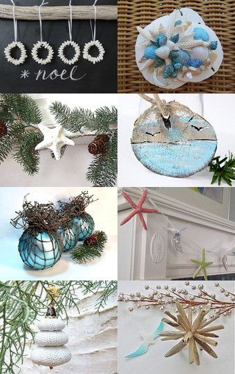 seaside holiday etsy treasury --Pinned with TreasuryPin.com