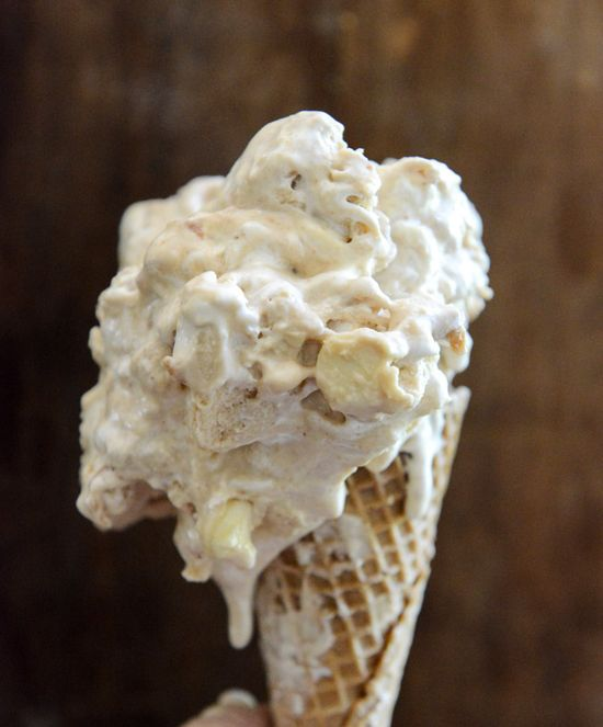 Fluffernutter Chip Ice Cream.