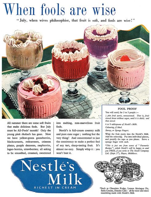 what?? #pudding #vintage #ad #food #1950s