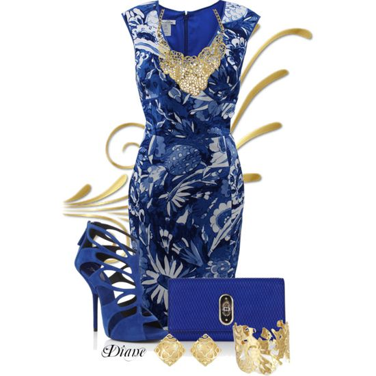The Blues, created by diane-shelton on Polyvore