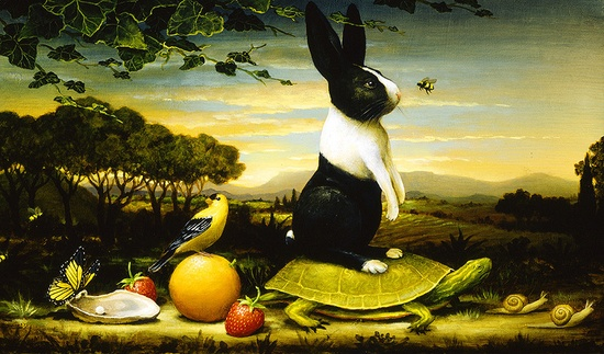 Painting by Kevin Sloan.