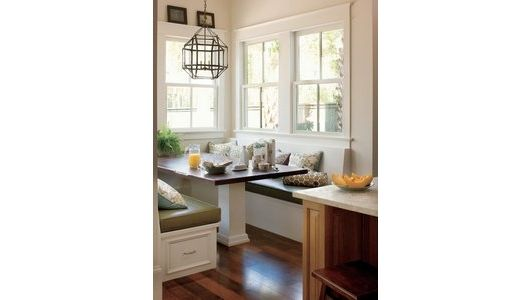 kitchen nook design idea - Home and Garden Design Ideas
