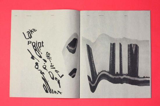 Graphic Design Inspiration – Chicago #typography zine