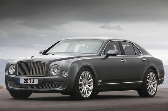 2013 Bentley Mulsanne Mulliner Luxury car