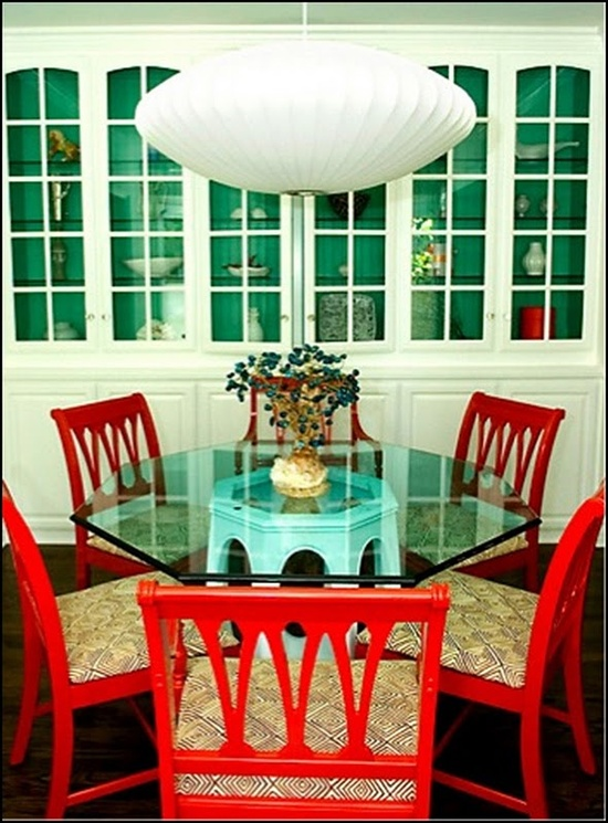 Painted Furniture ~ Red