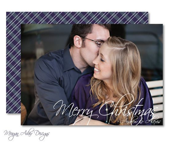 Personlized Photo Christmas Card: Customized to match your photo - Digital File