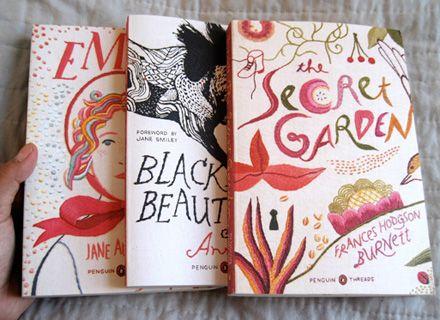 Jillian Tamaki threaded covers