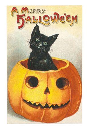 vintage halloween postcards -
