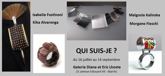 by DIANE and ERIC LHOSTE 's Gallery in Biarritz from the 16th of July to the 14th of September 2013.