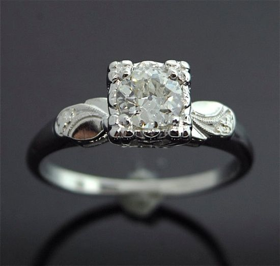 1. Something Vintage - Vintage Engagement Ring #modcloth #wedding