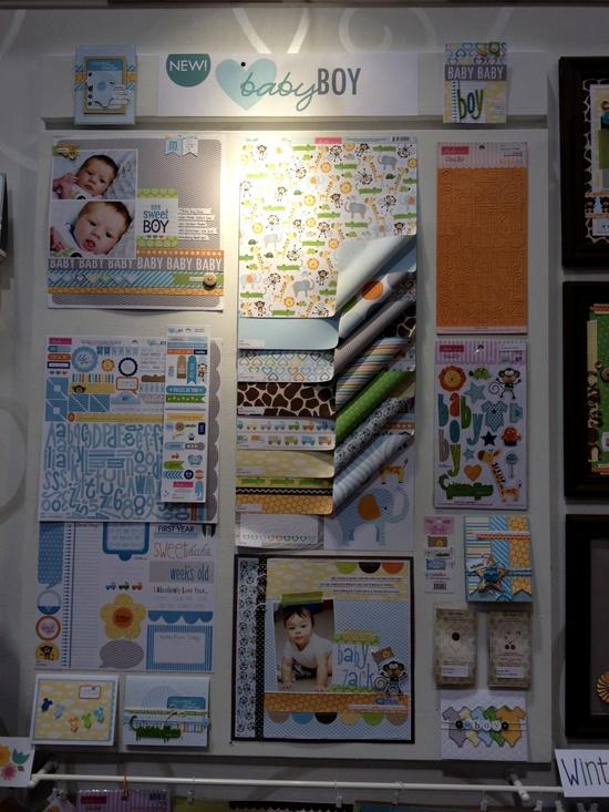NEW Bella Blvd CHA - Baby Boy Collection - Scrapbook.com