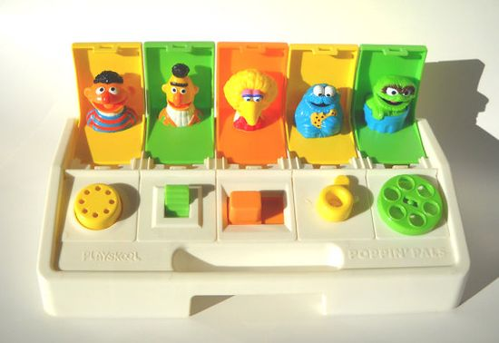 Playskool -  It's crazy how we can remember toys we had as babies