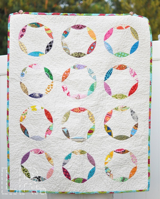 """Sewing Circle"" baby quilt"
