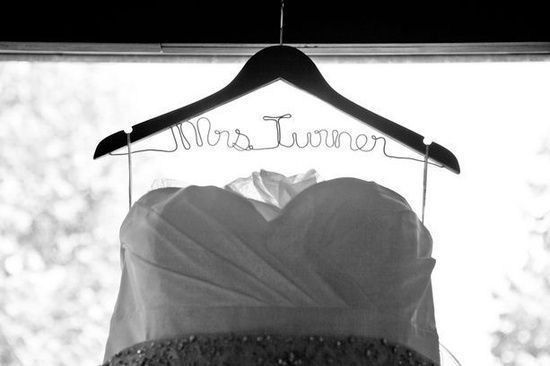 Note to self: personalized hanger..