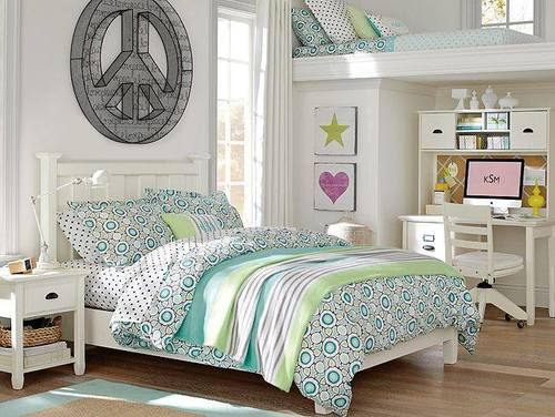 peace bed room