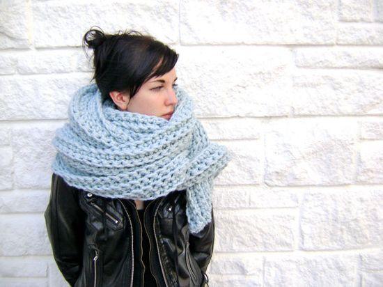 dramatic crochet scarf by sheilalikestoknit on etsy