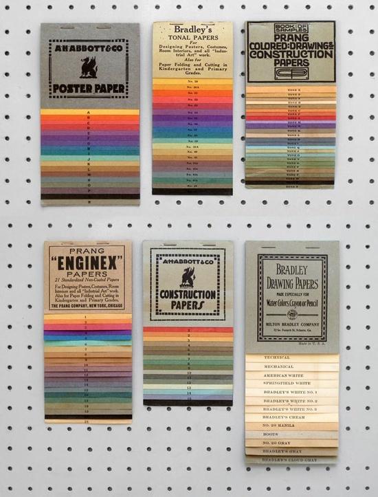 Paper sample books. #notebook #diary #stationery #notizbuch #tagebuch #papier #notizbuchblog