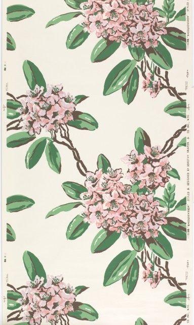 Las flores de Dorothy Draper.
