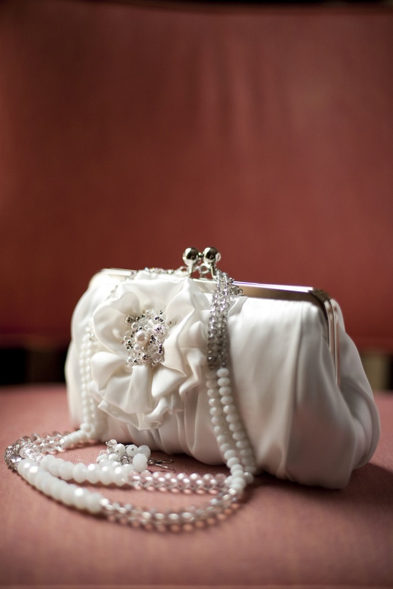 White purse.   Photography by justinmarantz.com