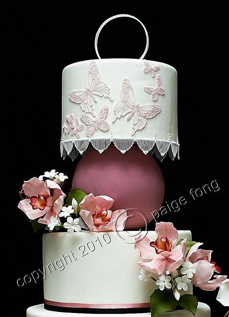 Orchids Wedding Cake - Top #dental #poker