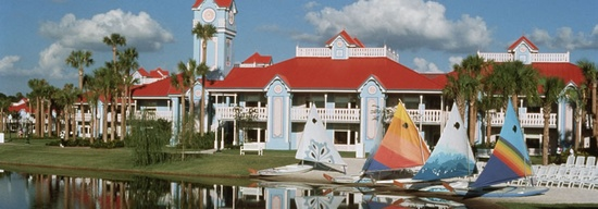 Disney's Caribbean Beach Resort - Five Villages  each named for a Caribbean Island gives the feeling of being in the Caribbean but with the Disney Magic!