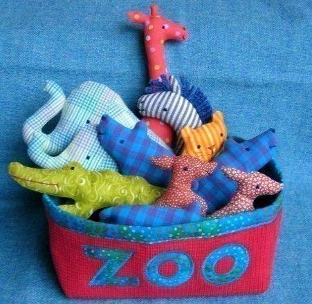 zoo softies pattern