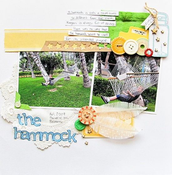 Mix Vintage Looks With Modern Punch on Your Scrapbook Pages