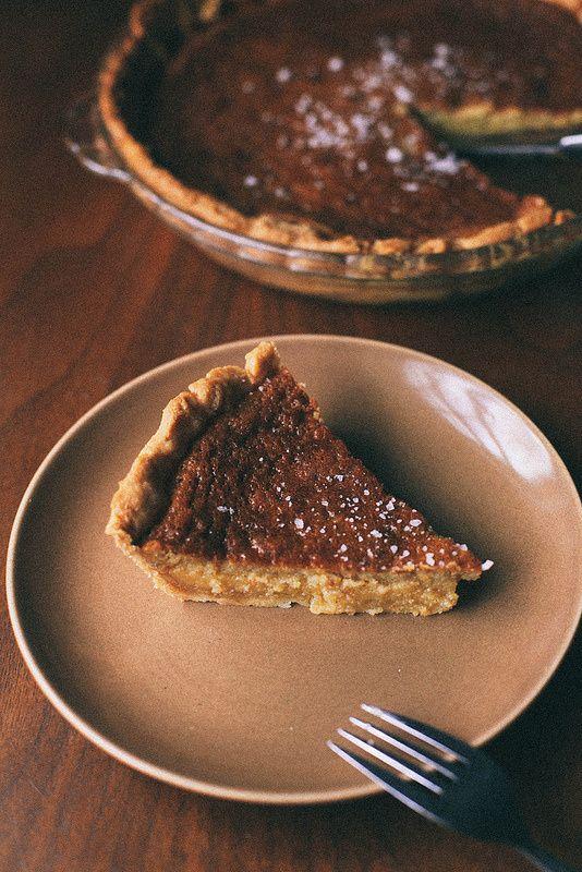 Salted Lavender Honey Pie