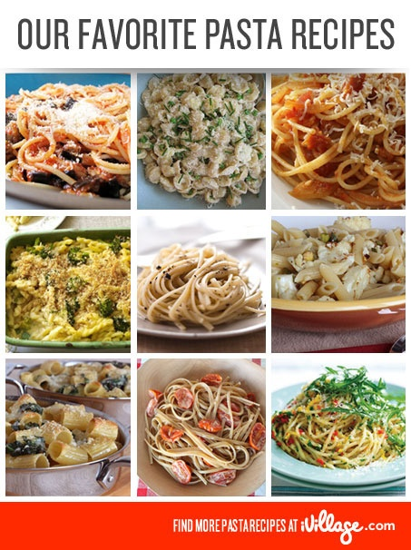89 Pasta Recipes: Spaghetti, Lasagna and More! #pasta #carbs www.ivillage.com/...