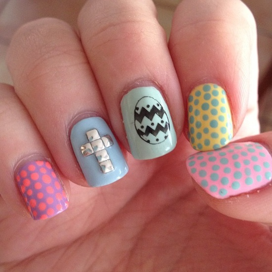 Easter mani!