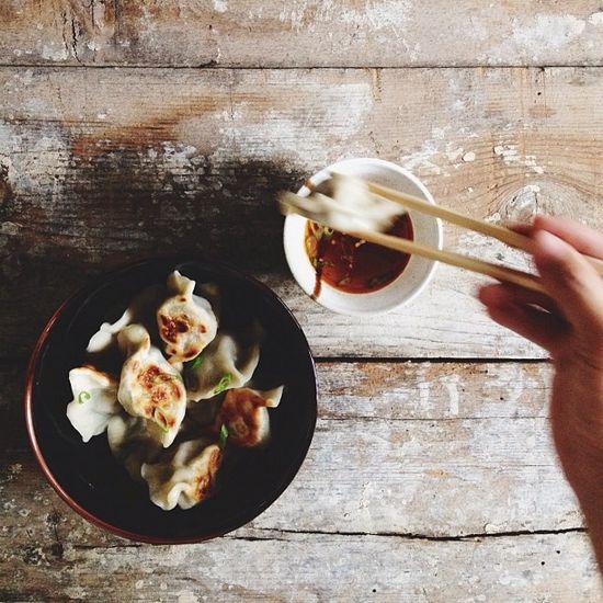 Dumplings / @Rick Poon