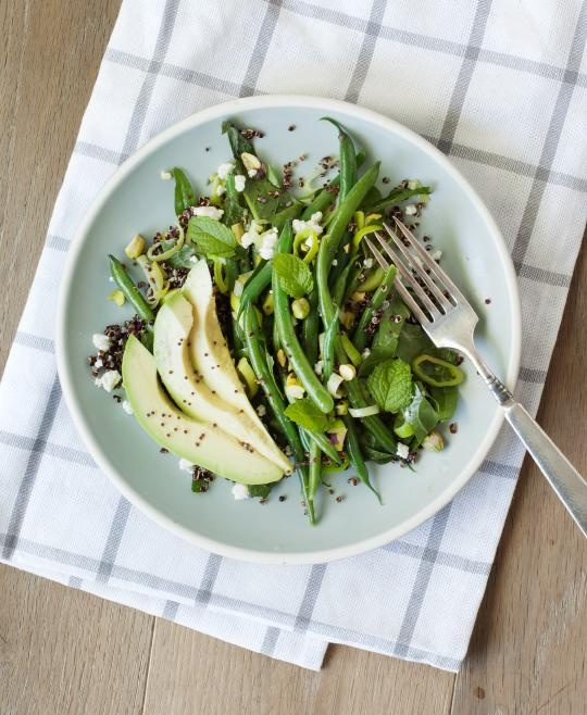 Green bean & avocado quinoa salad / Love and Lemons