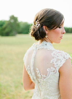 lace back #wedding gown