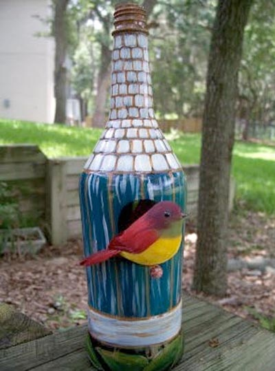Top 10 Recycled Birdhouses