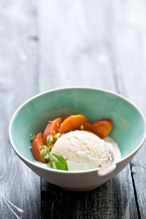 In search of the perfect peach dessert.