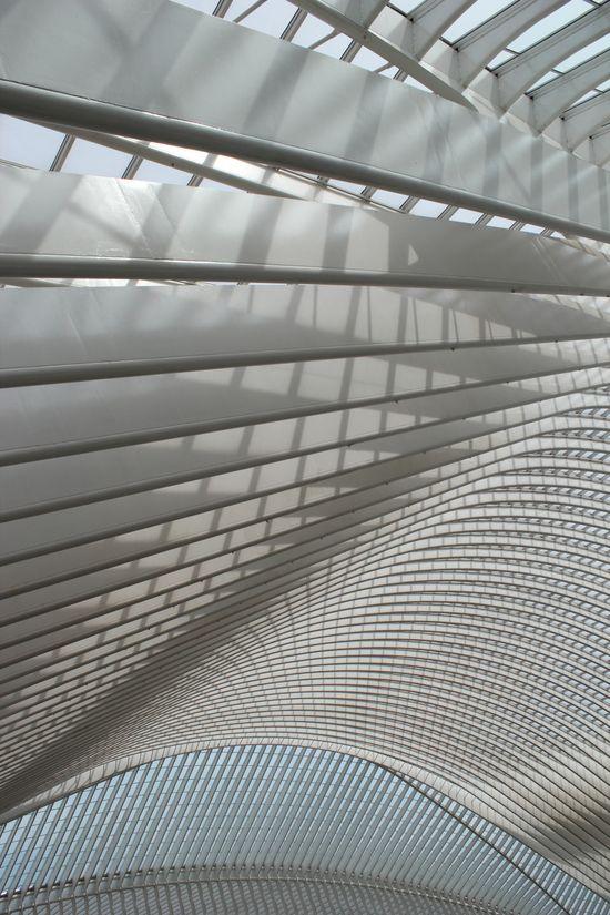 Gare des Guillemins à Liège ? Cela y ressemble.