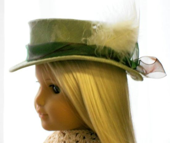 American Girl Doll Clothes  Doll Hat  Watson by capecodcuriosities, $25.00