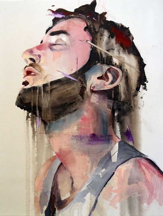 "Saatchi Online Artist: Lou ROS; Acrylic, 2012, Painting ""DLR2"""