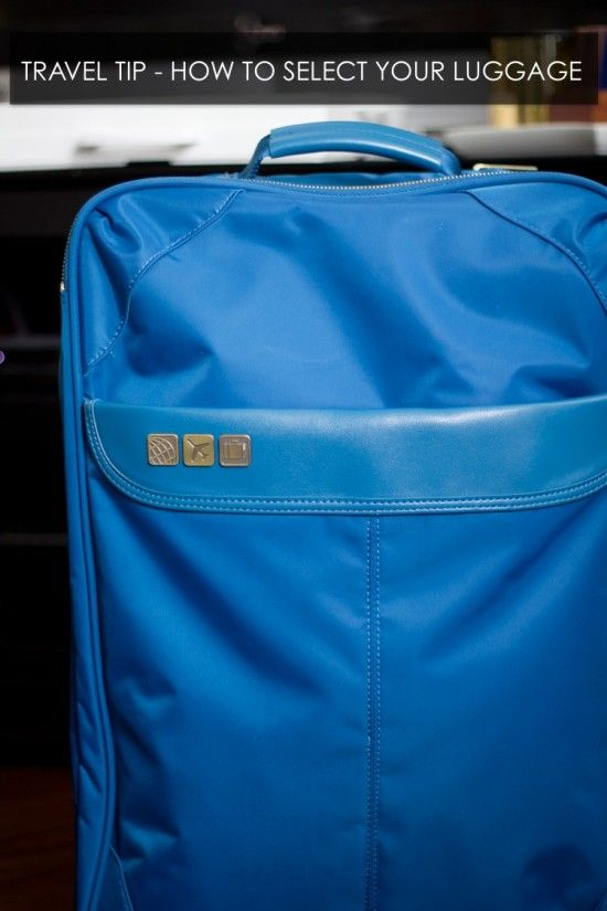 Picking the perfect suitcase // www.hithaonthego.... #travel #packing
