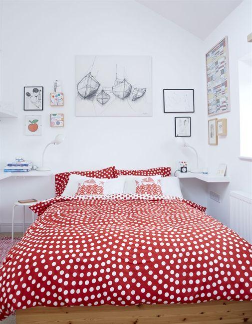 Jane Foster's bright bedroom