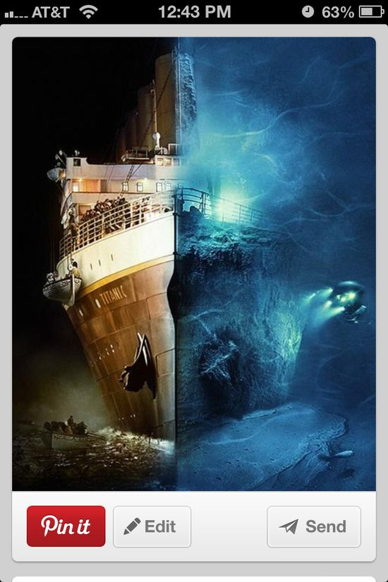 Amazing photo of titanic...
