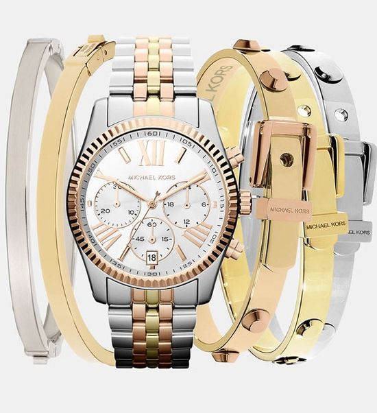 Michael Kors Watch & Bangles??