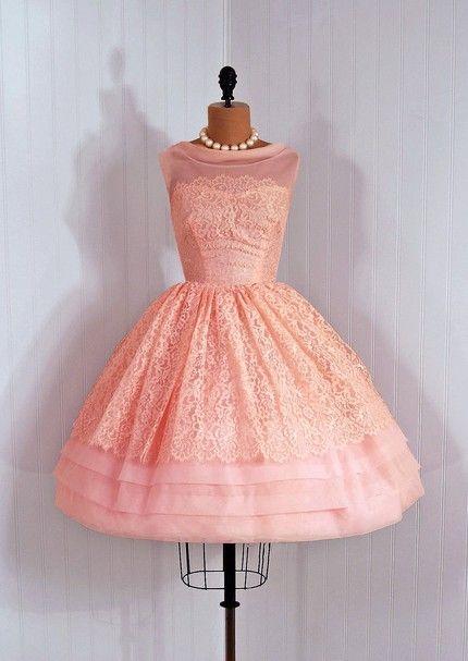 Vintage couture dress