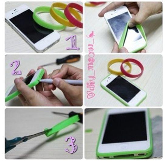 Diy border iphone case