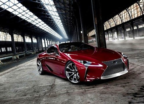 Lexus Sport Car 2012 O_O damn in my favorite color....... niceeeeeeee