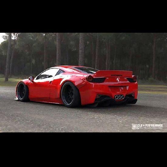 Sick Ferrari 458 Italia #bodykit