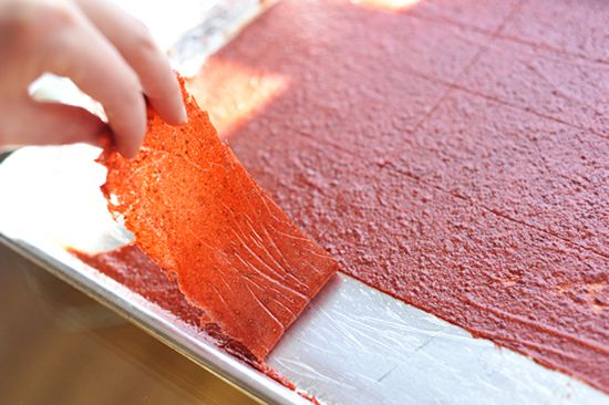 Homemade Fruit Leather