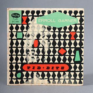 Erroll Garnier Tid Bits Record Cover circa 1954